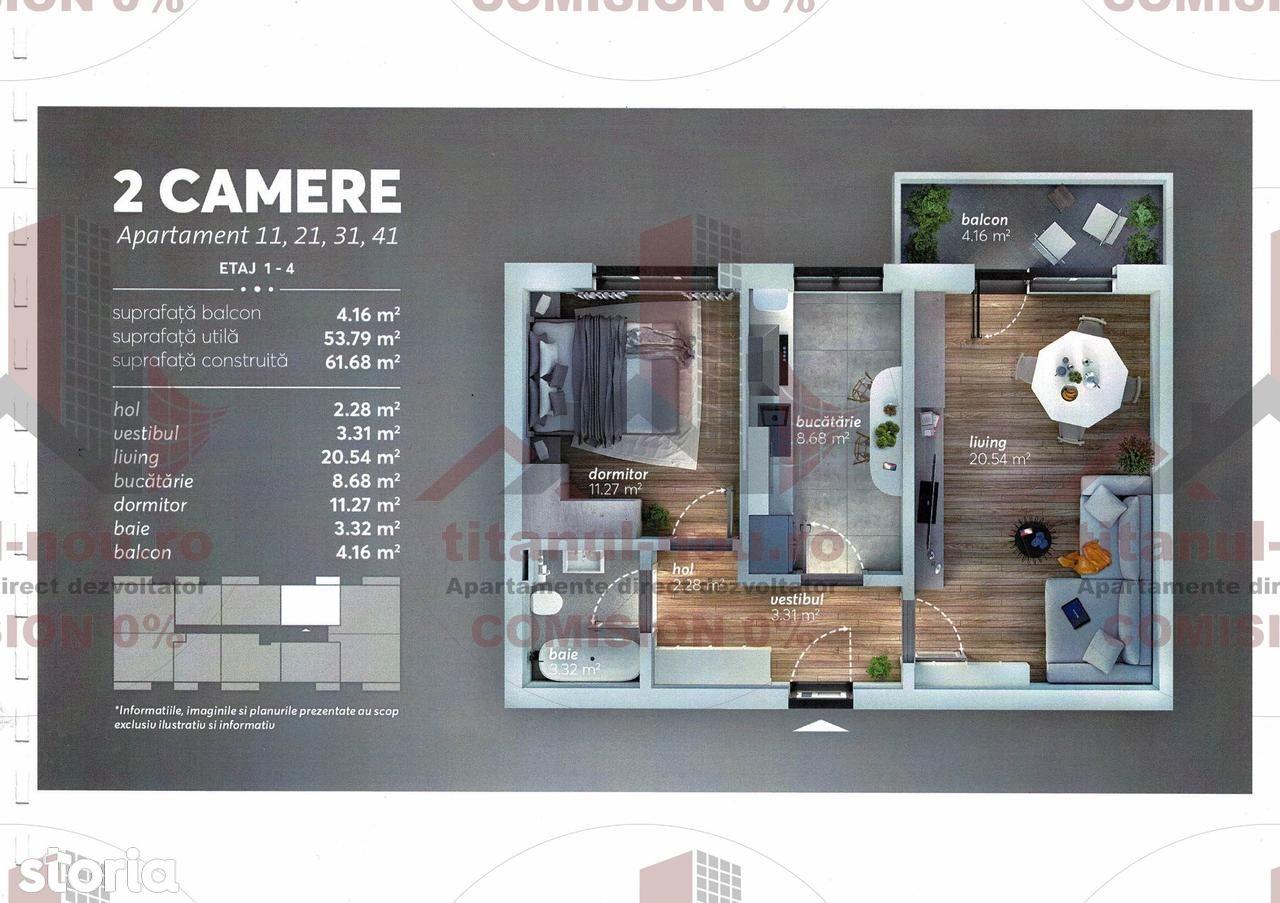 Apartament de vanzare, București (judet), Aleea Perișoru - Foto 1