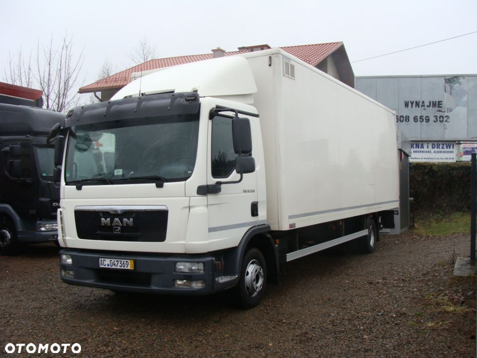 MAN TGL 12.250 EURO5  kontener izoterma 18 palet + winda, manual, import - 1
