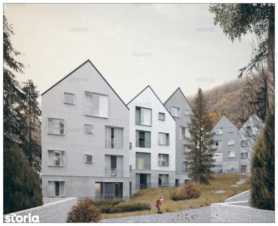 Apartament de vanzare, Brașov (judet), Strada Neagoe Basarab - Foto 3