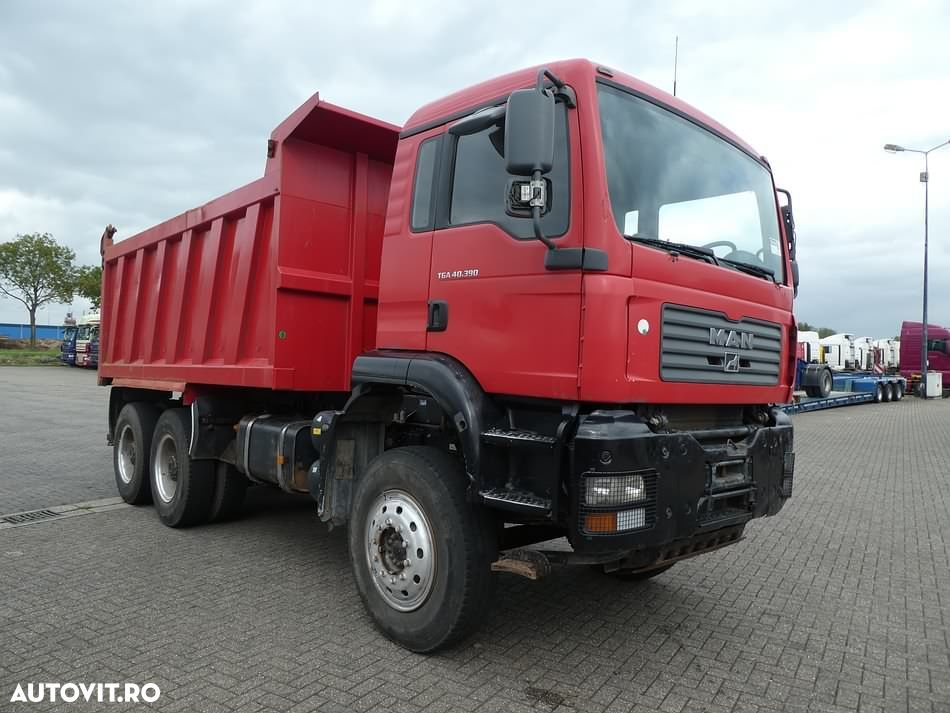 MAN 40.390 6X4 FULL STEEL 17M3 - 2