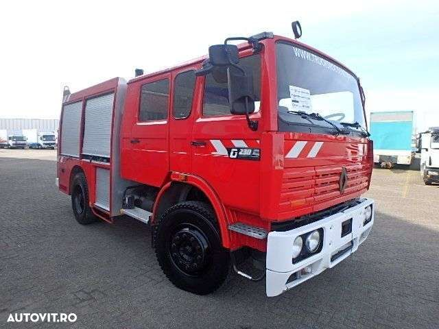Renault G 230 + MANUAL + FIRE TRUCK + 35889KM ! - 1
