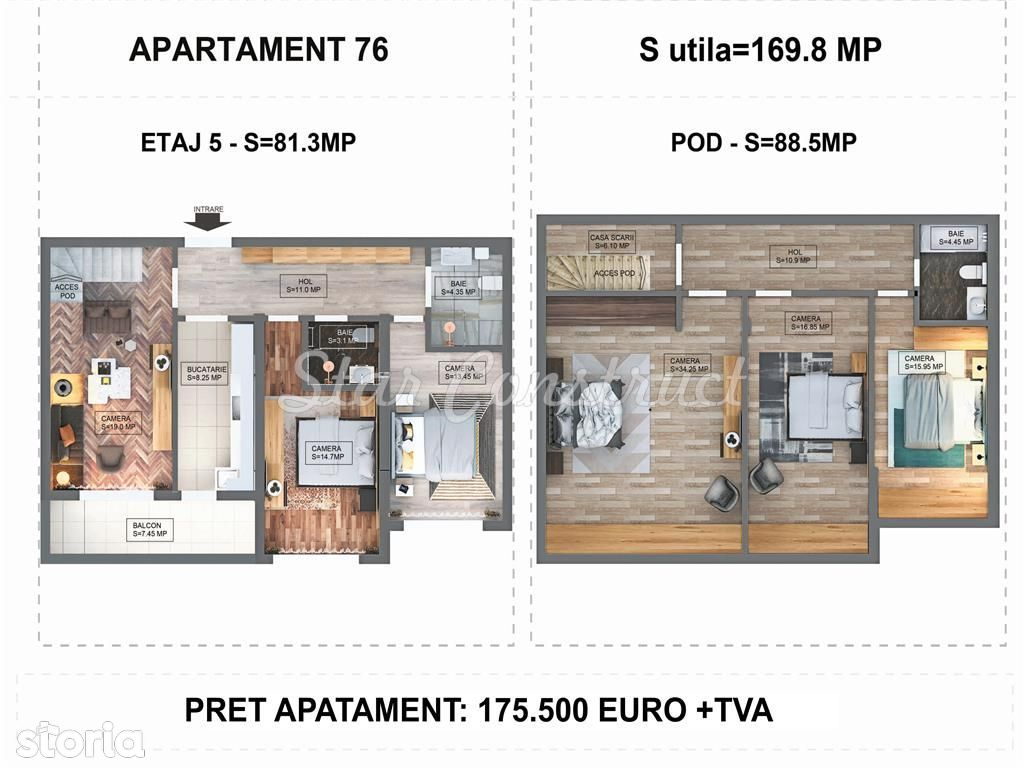 Apartament de vanzare, București (judet), Strada Laborator - Foto 4