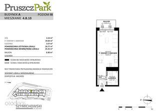 Pruszcz Park, budynek A, mieszkanie 4.B.10