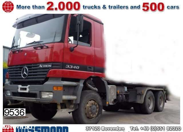 Mercedes-Benz Actros 3340ak 6x6 Chassis - 1