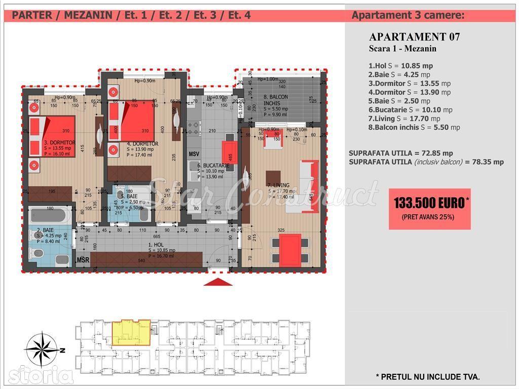 Apartament de vanzare, Bucuresti, Sectorul 3, Decebal - Foto 1