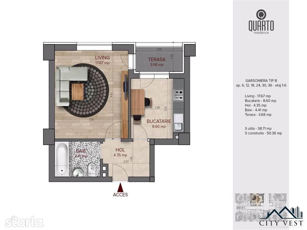 Apartament de vanzare, București (judet), Bulevardul Timișoara - Foto 12