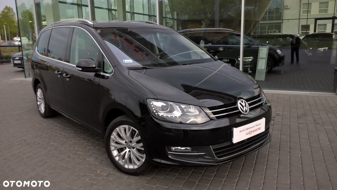 Volkswagen Sharan Highline 177KM DSG FV23% Salon PL. - 1