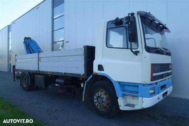 DAF CF75.270 4X2 MANUAL WITH ATLAS HLK105 - 6