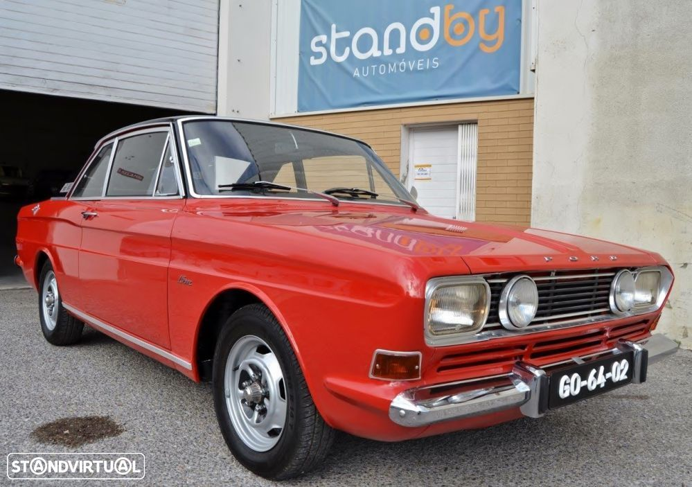 Ford Taunus 15M Coup - 1