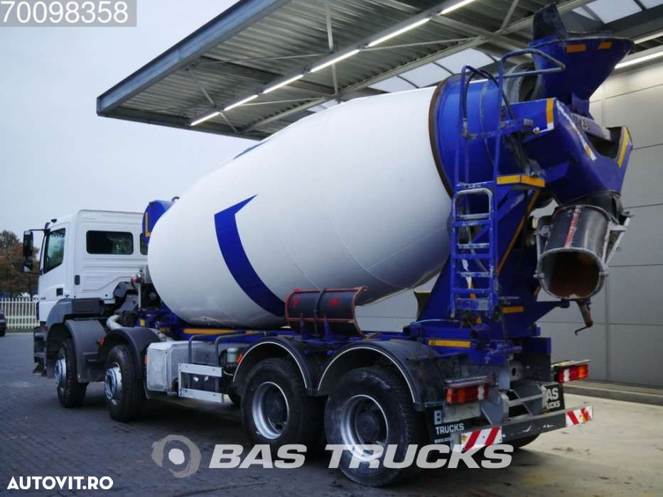Mercedes-Benz Axor 4140 B 8X4 12m3 Manual Big-Axle Steelsuspension Euro 5 - 2