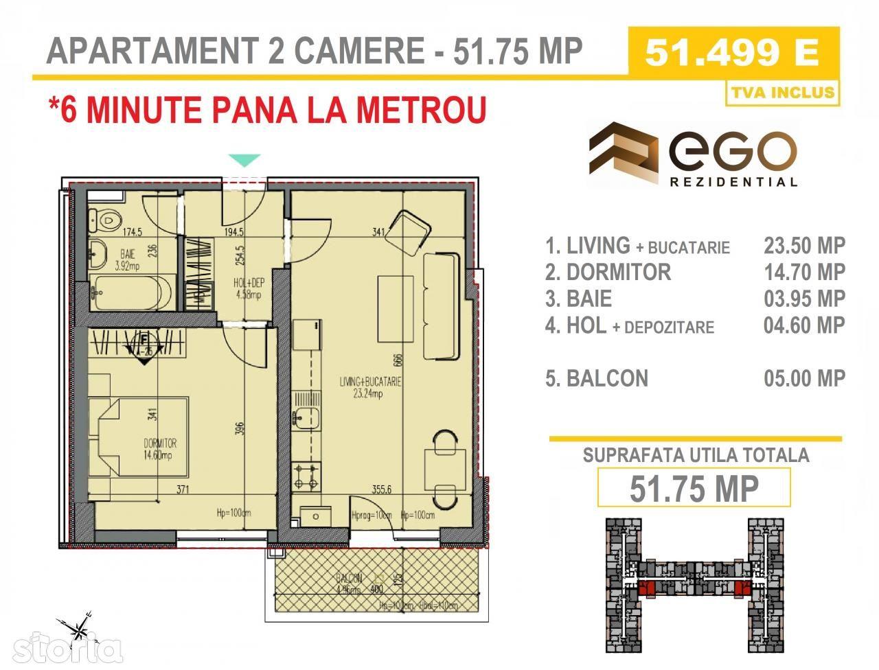 Apartament de vanzare, Bucuresti, Sectorul 4, Aparatorii Patriei - Foto 4