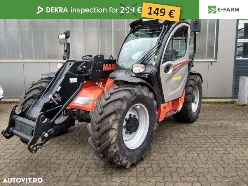 Manitou Mlt 635 Classic - 1
