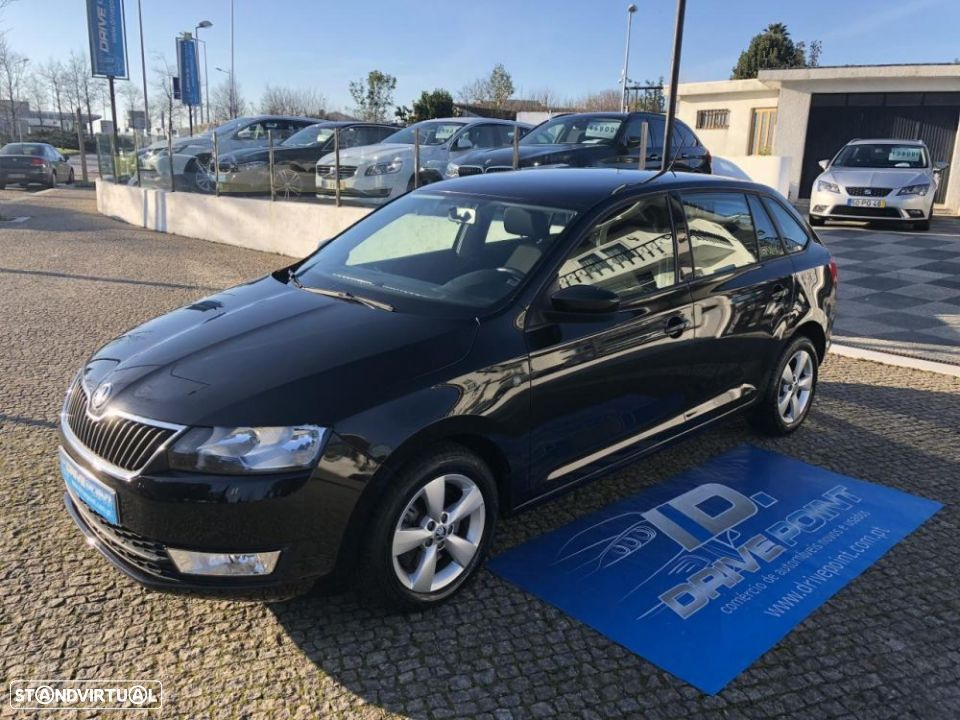 Skoda Rapid Spaceback 1.6 TDi Ambition - 2