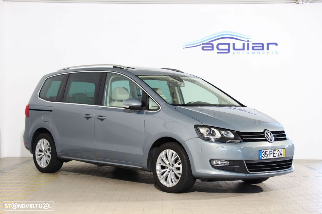 VW Sharan 2.0 TDi Highline DSG - 1