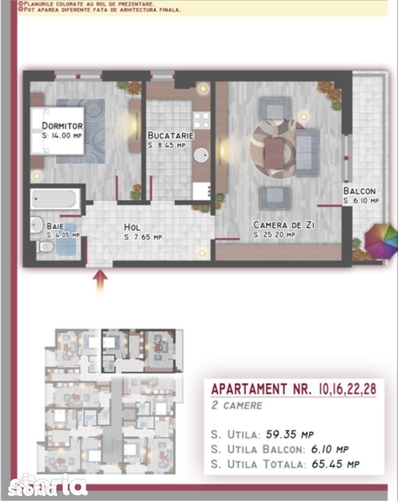 Apartament de vanzare, București (judet), Aleea Buhuși - Foto 3