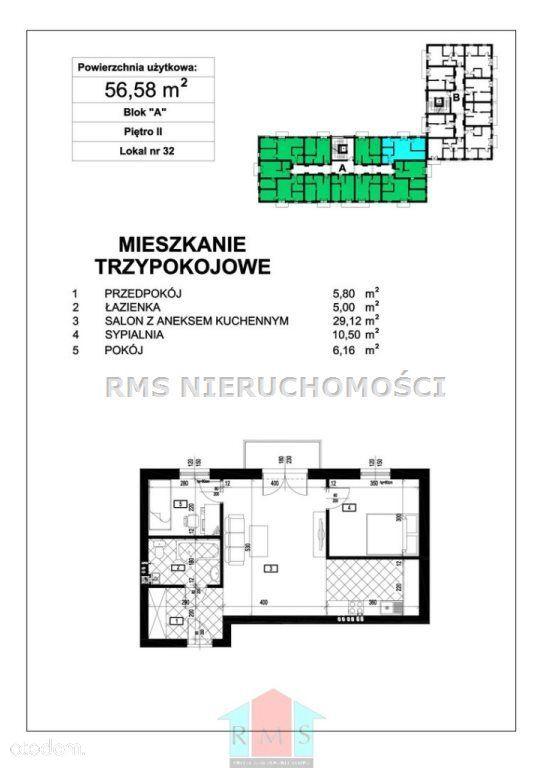 Mieszkanie na sprzedaż, Cieszyn, cieszyński, śląskie - Foto 1