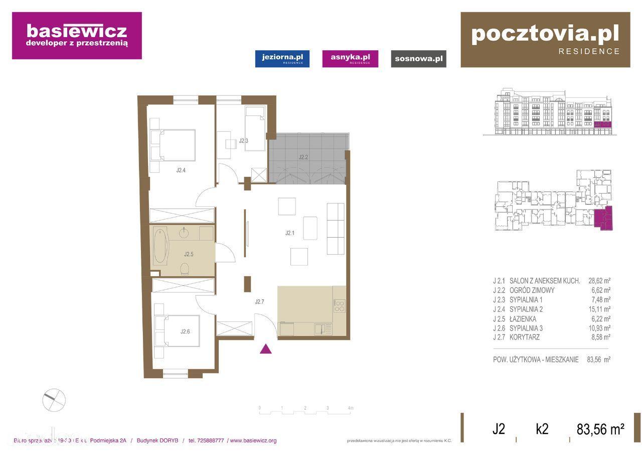 Mieszkanie na sprzedaż, Ełk, Centrum - Foto 1