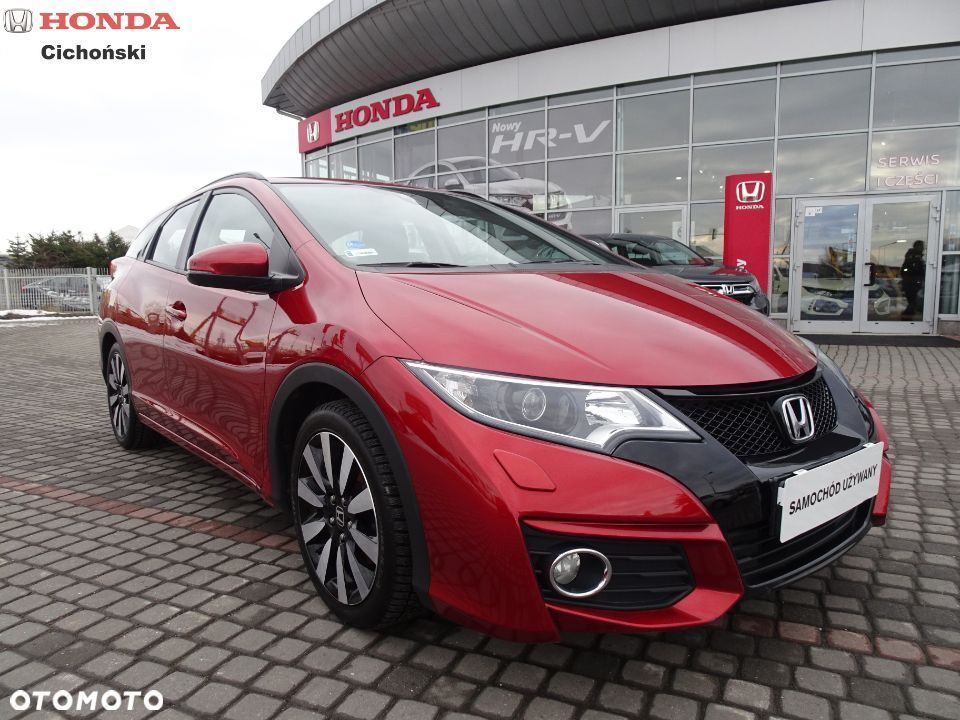 Honda Civic Honda Civic Tourrer Elegance 1.8 i VTEC 142 KM Face Lifting, Salonowy - 1