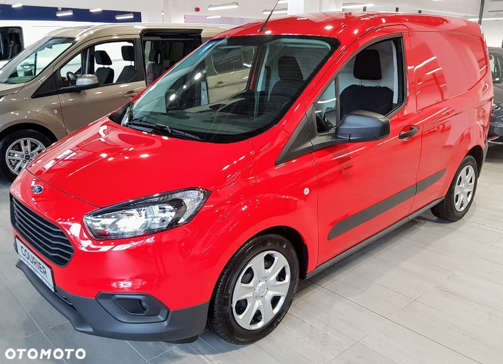 Ford Courier  Ford Transit Courier Van MCA 1.5 100KM RATA 650 ZŁ !!! - 2