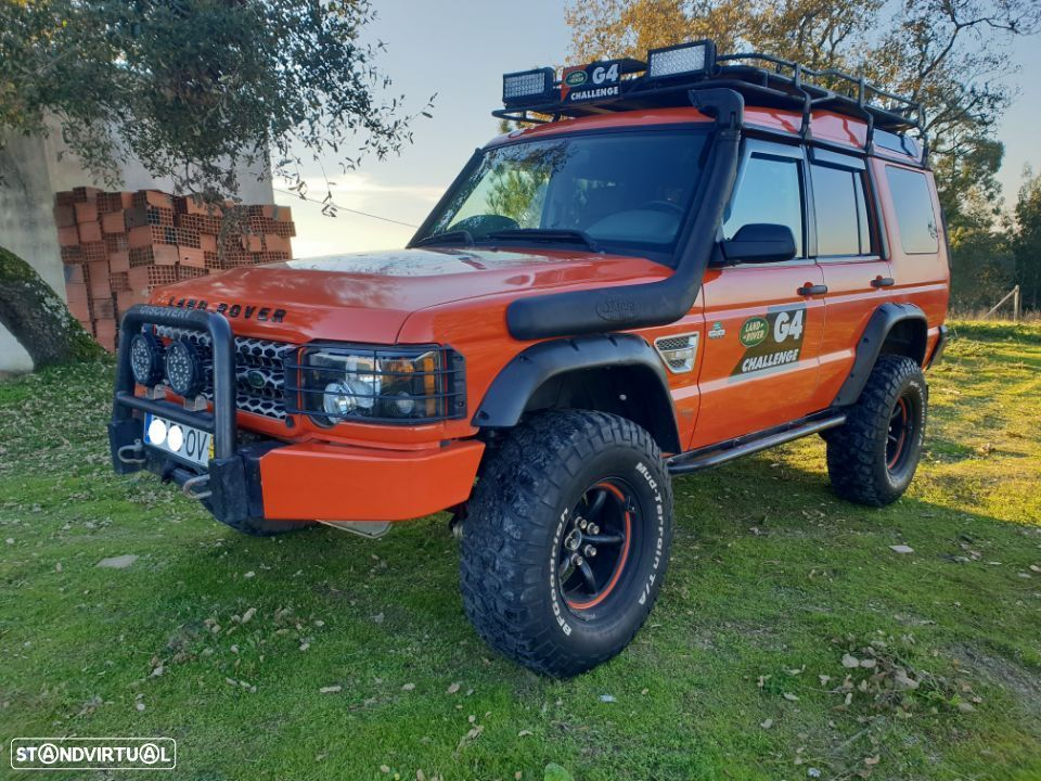 Land Rover Discovery G4 Challenge TD5 - 10