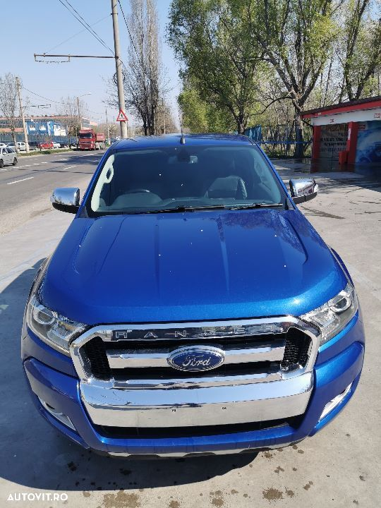 Dezmembrez ford ranger 3 facelift 2015 2018 2 2 manual 6 trepte motor - 4
