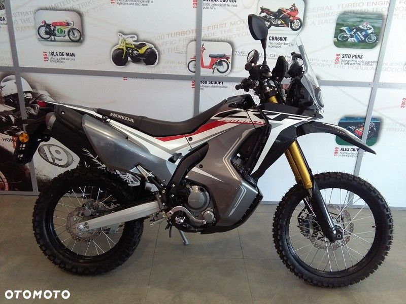 Honda CRF 250 Rally ABS, 2019, nowy model, transport, gwarancja, ASO - 2