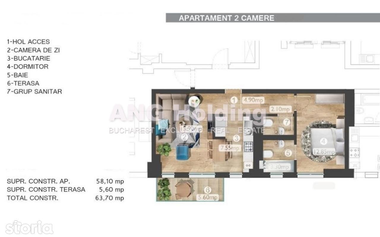 Apartament de vanzare, Bucuresti, Sectorul 2, Barbu Vacarescu - Foto 6