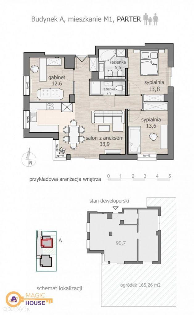 Mieszkanie na sprzedaż, Sopot, Kamienny Potok - Foto 1