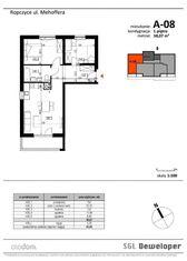 Mieszkanie w stanie deweloperskim - Ropczyce