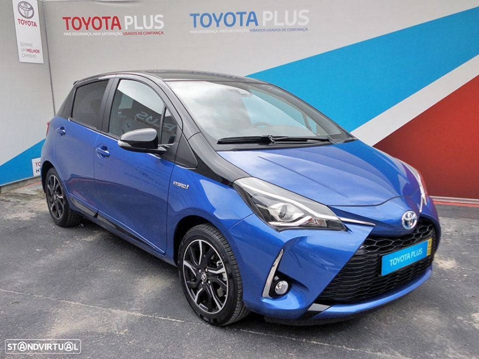 Toyota Yaris 1.5 Híbrido Collection Blue - 1