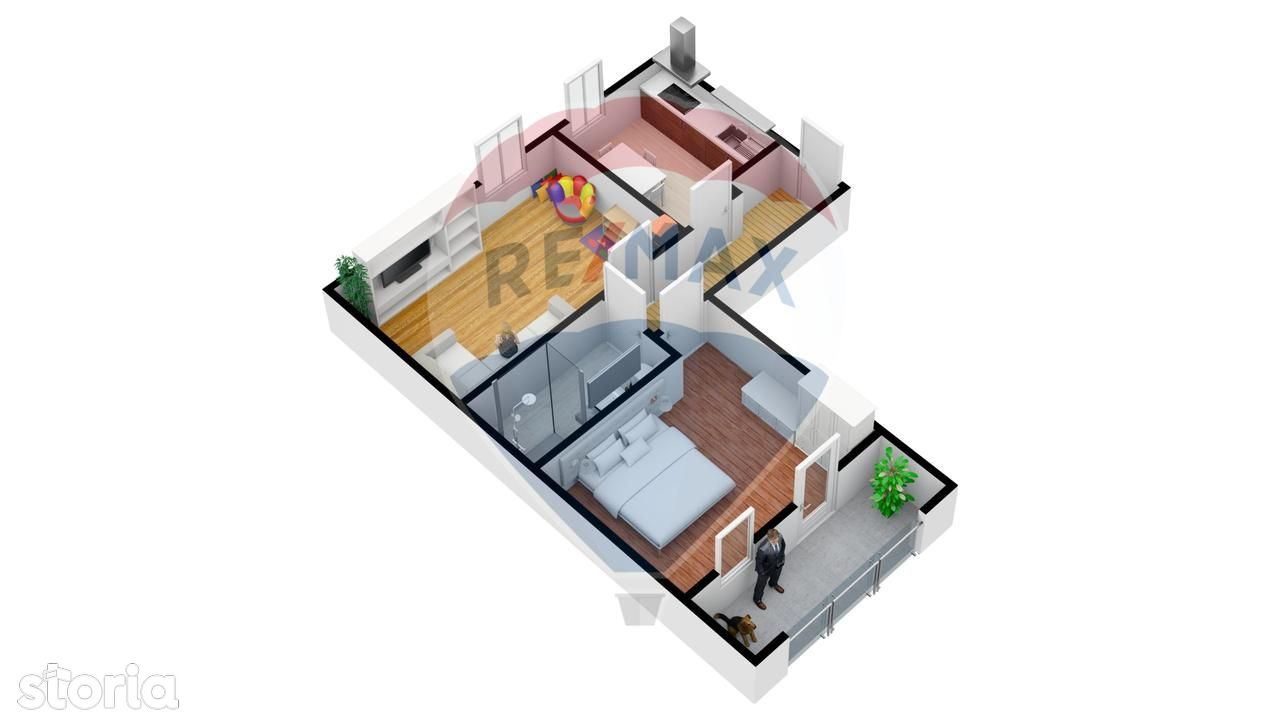 Apartament de vanzare, Sibiu, Turnisor - Foto 8