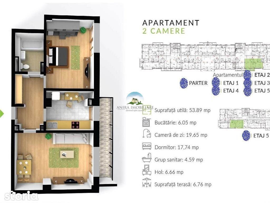 Apartament de inchiriat, Cluj (judet), Piața Unirii - Foto 8