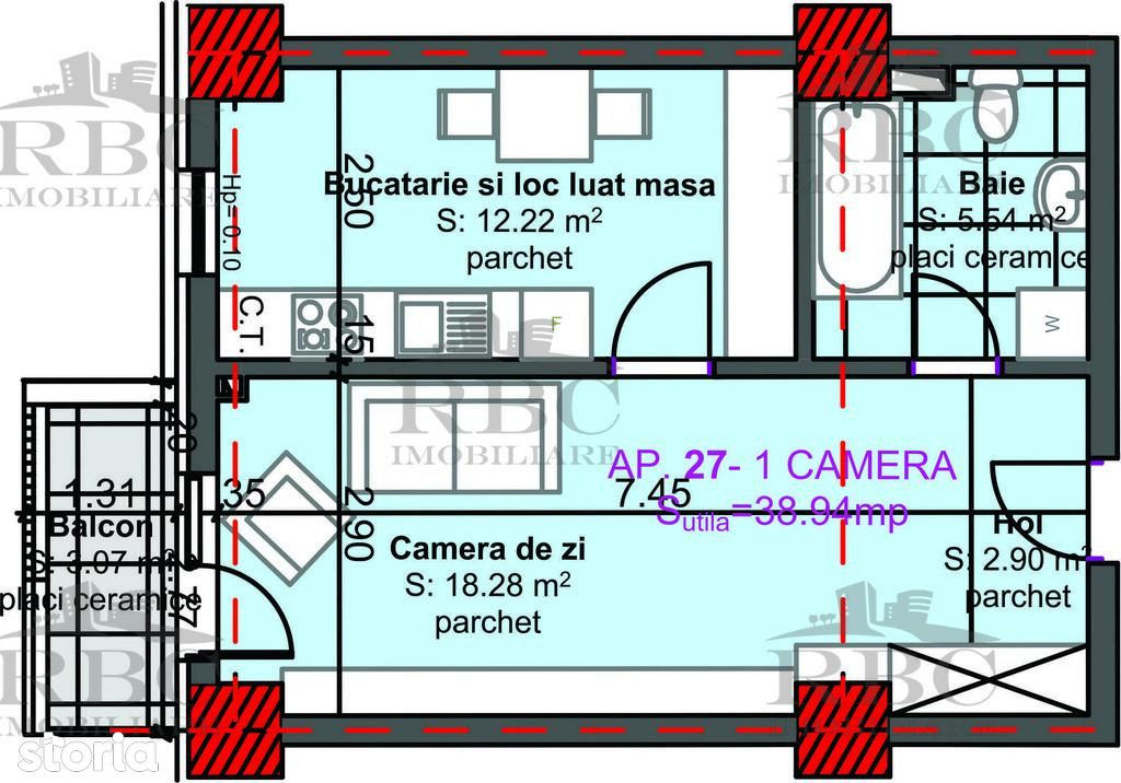 Apartament de vanzare, Cluj-Napoca, Cluj, Marasti - Foto 14