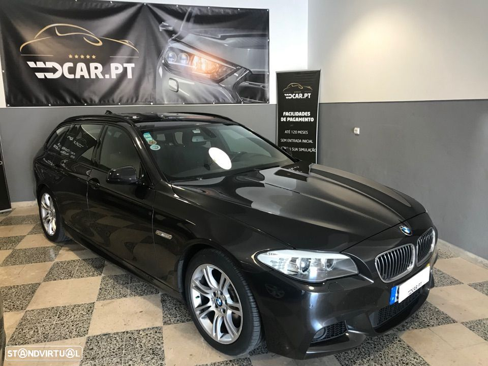 BMW 520 TOURING PACK M CX AUTOMÁTICA - 4