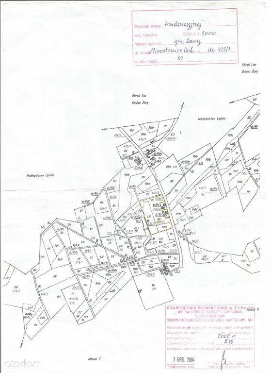 Działka na sprzedaż, Mirostowice Dolne, żarski, lubuskie - Foto 2
