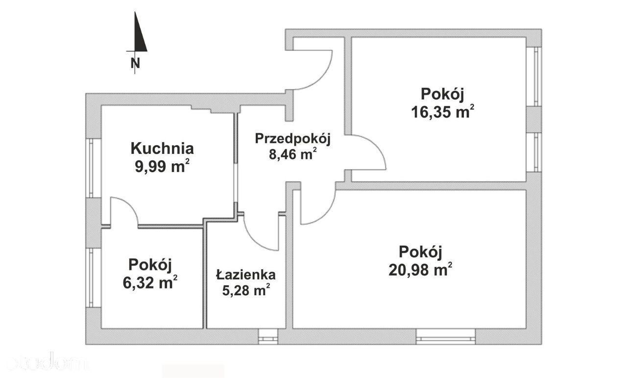 Mieszkanie na sprzedaż, Racibórz, raciborski, śląskie - Foto 13