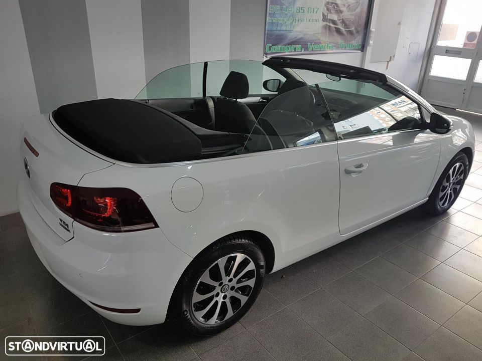 VW Golf Cabriolet 1.6 TDI Bluemotion - 10