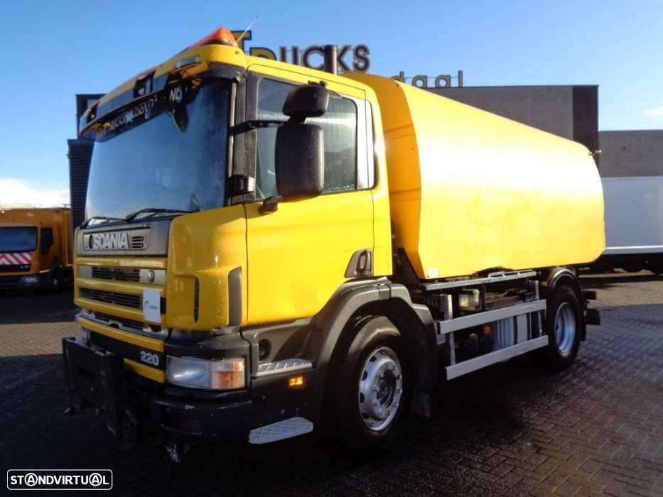 Scania 94D 220 + Manual + right-hand drive + Cleaning car - 1