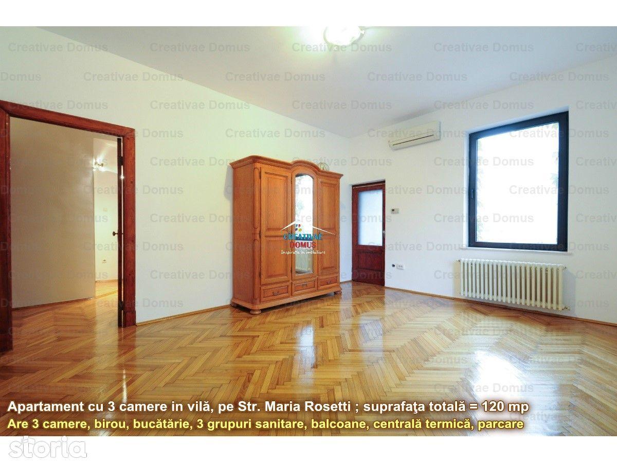 Apartament de inchiriat, București (judet), Strada Maria Rosetti - Foto 1