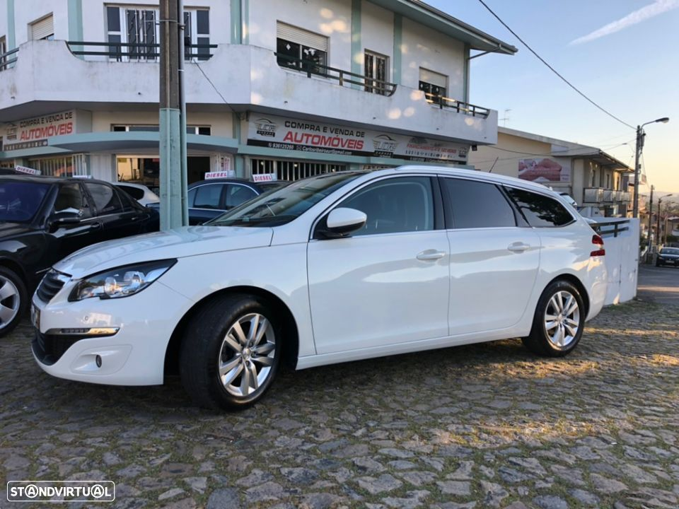 Peugeot 308 SW style 1.6 hdi 120cv 6 velocidades - 1