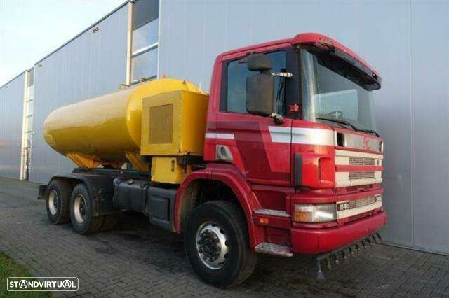 Scania P114.340 6x6 Manual Full Steel Hub Reduction Wat - 1