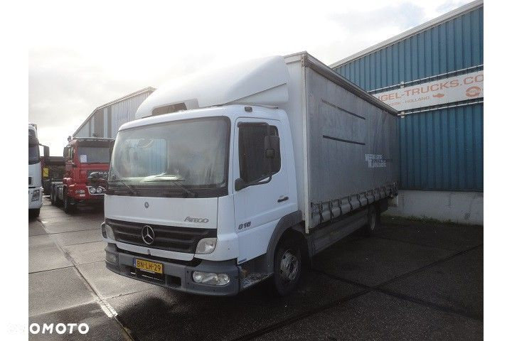 Mercedes-Benz ATEGO 815 (7.490 KG.) WITH CURTAINSIDES AND LOADING PLATFORM  Mercedes-benz Atego 815 (7.490 Kg.) With Curtainsides AND Loading Plat - 1