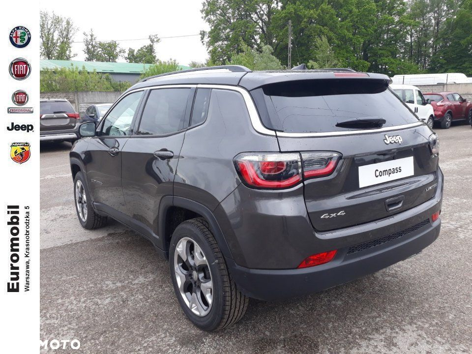 Jeep Compass Limited 1.4 170 km at9 4x4, 2019r. - 4