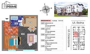 Katowice- M4 Apartament 2 pokojowy - 52,90 m2