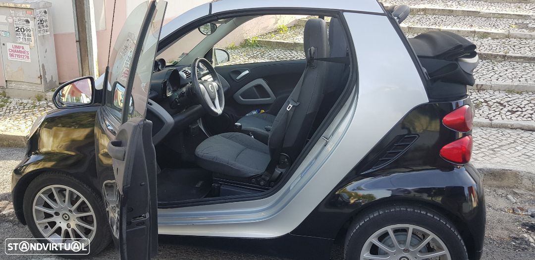 Smart ForTwo Passion Cabrio 78Mil kms - 9
