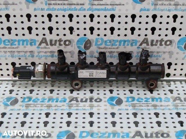 Rampa injectoare , Citroen Berlingo 1.6HDI, 9H01, 9HZ - 2
