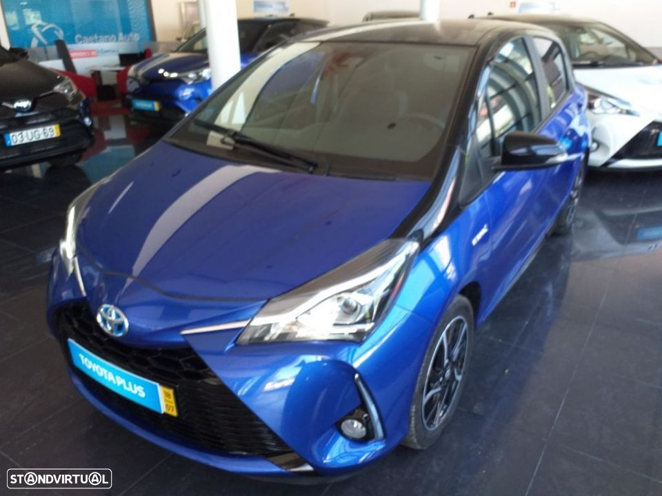 Toyota Yaris 1.5 Hybrid SQUARE Collection Blue - 1