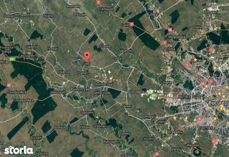 Teren de Vanzare, Giurgiu (judet), Ulmi - Foto 2