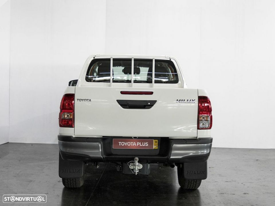 Toyota Hilux 4x4 Cabina Dupla Cx Metálica - 18