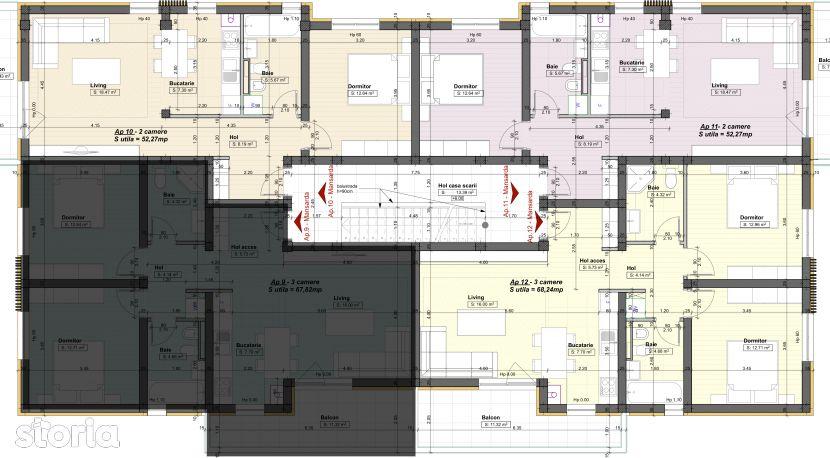 Apartament de vanzare, Timisoara, Timis, Braytim - Foto 1